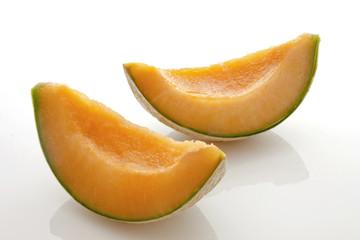 Quartiers de melon