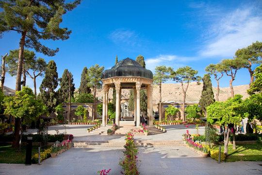 Tomb Aramgah-e Hafez in Shiraz