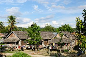 Indonesia - rural landscape Mahak village