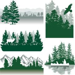 Mountains landscapes