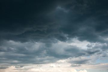 Foto auf Acrylglas Onweer Storm clouds