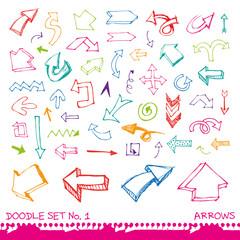 Doodle set 1 - arrows