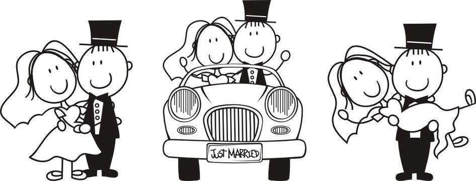 wedding story board