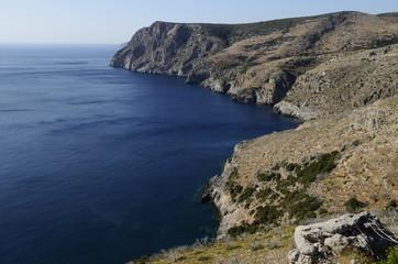 costa occidentale Isola di Kithira