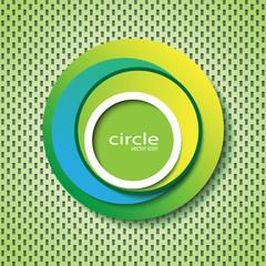 circle abstract cover / logo