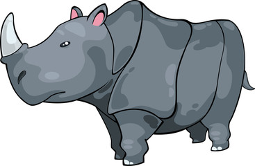 illustration  Rhino vector file