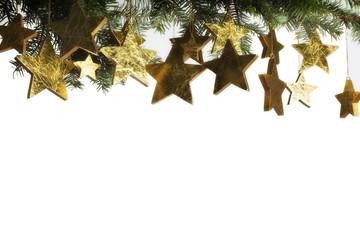 Christmas star composition