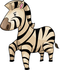 illustration Zebra vector file