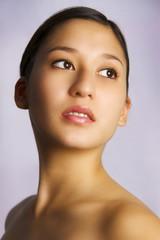 Asian caucasian mix girl