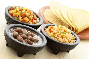 delicious taco ingredients