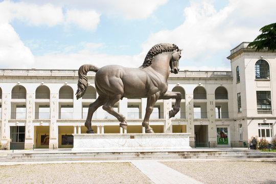 Milan hippodrome