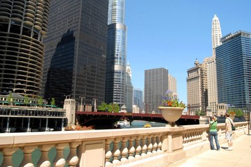 Fototapete - Downtown Chicago, Illinois