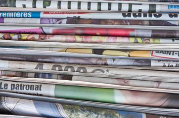 Photo sur Aluminium Journaux journaux