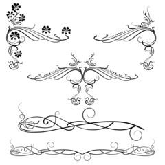 Decorative Swirl Motifs
