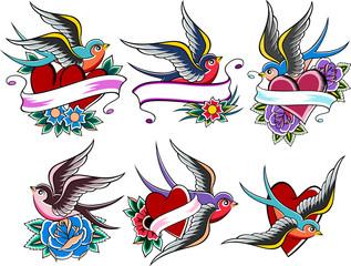 swallow set design