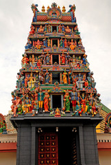 Hindu temple(Singapore)