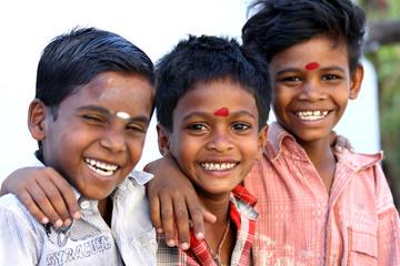 Indian Little Friends Wall mural