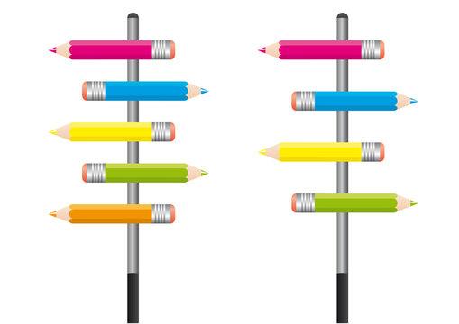 Crayons Couleurs_2Panneau
