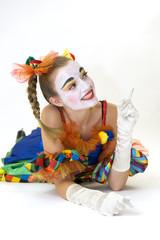 Clown - déguisement - idée