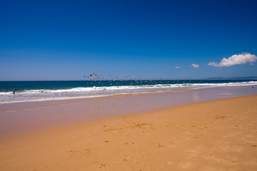 Piękna plaża Portugalii