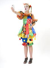 Clown - déguisement - photographier