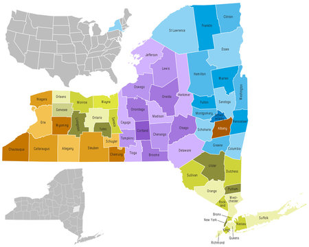 New York state counties