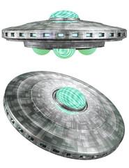 Ufo - flying saucer 3D