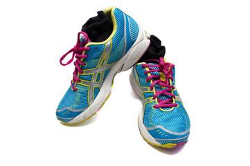 zapatillas de deporte usadas