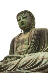Buda aislado sobre fondo blanco