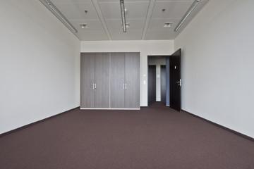 leeres Büro ohne Möbel