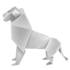Origami_lion
