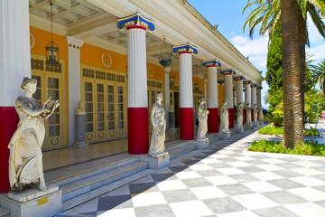 Achillion palace, Corfu island , Greece