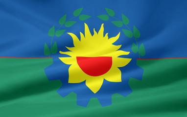 Flagge der Provinz Buenos Aires - Argentinien