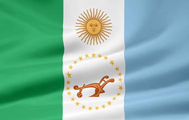Flagge der Provinz Chaco - Argentinien