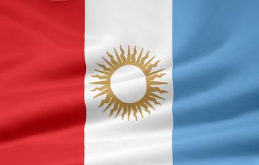 Flagge der Provinz Cordoba - Argentinien
