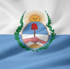 Flagge der Provinz Mendoza - Argentinien