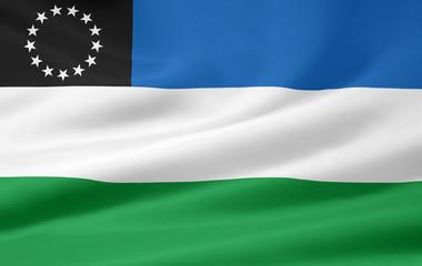 Flagge der Provinz Rio Negro - Argentinien