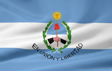 Flagge der Provinz San Juan - Argentinien