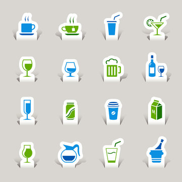 Papercut - Drink Icons
