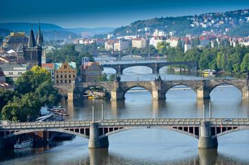 Les ponts à Prague