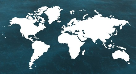 Keuken foto achterwand Wereldkaart world_maps_1