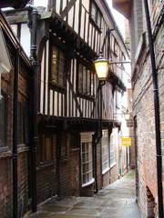 A Very Narrow Street in York England