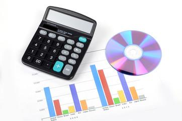 Calculator and DVD