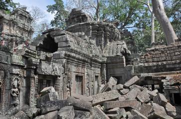 Ruins after the war
