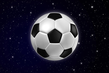 Football star on Galaxy.
