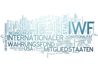 Internationaler Währungsfond IWF