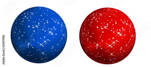 Christbaumkugeln Blau.Christbaumkugeln Blau Rot Stock Photo And Royalty Free Images On