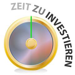 uhr - zeit zu investieren