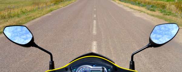 steering wheel scooter