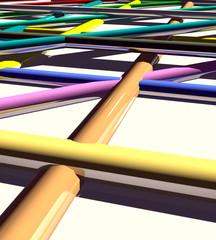 Linee e colori